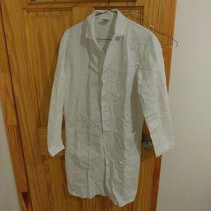 Vintage White lab coat medical jacket